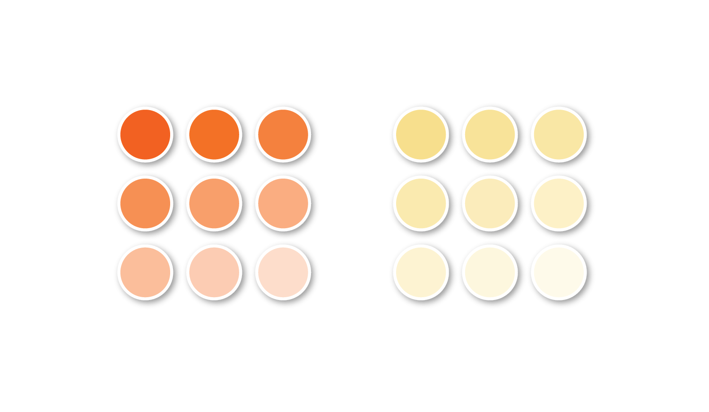 Identity main colors