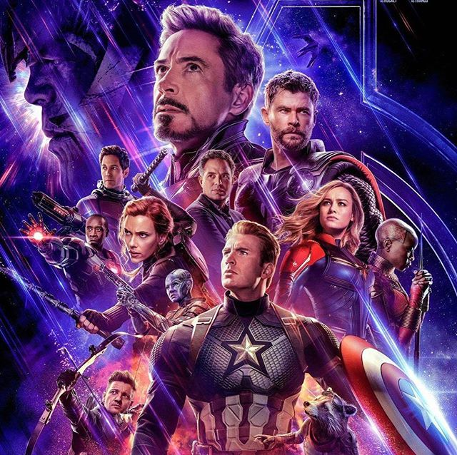 Finally got to see Avengers and it was perfect! What a fantastic ride @marvel has taken us all on! #mindblownd #superpowers
