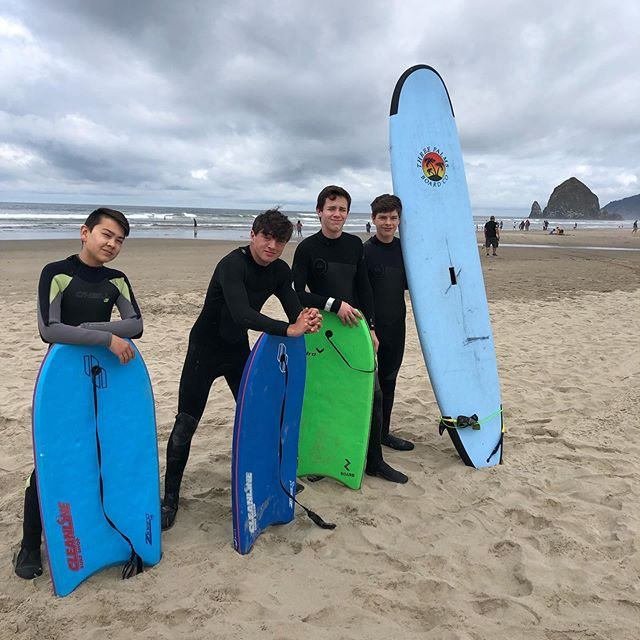 What a great week at the beach! Love it when the Boys just get to be Boys!