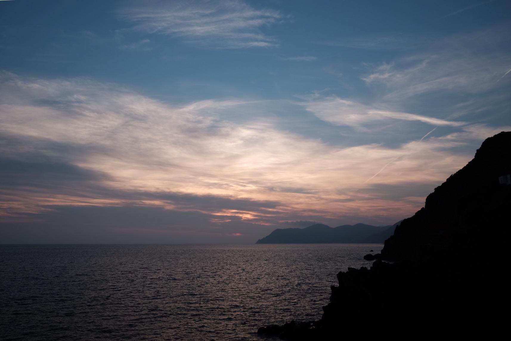 31. Riomaggiore sunset, Cinque Terre, Italy