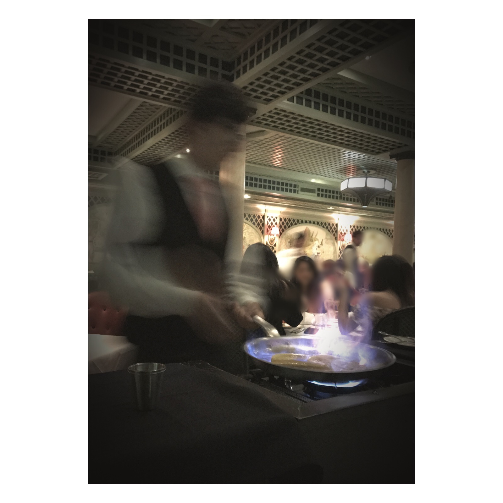Brennan's Bananas Foster Tableside