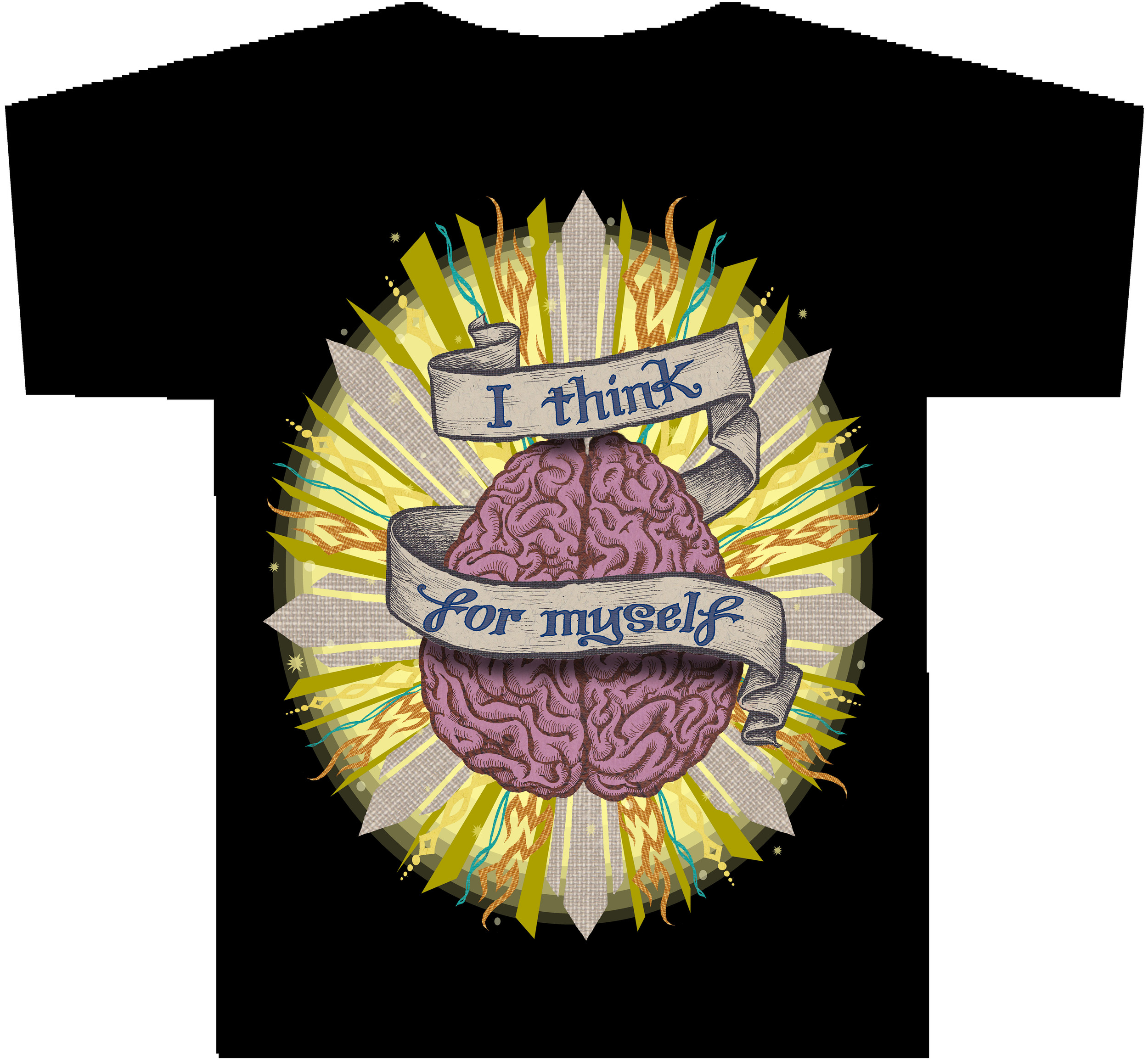 I THINK FOR MYSELF T-Shirt