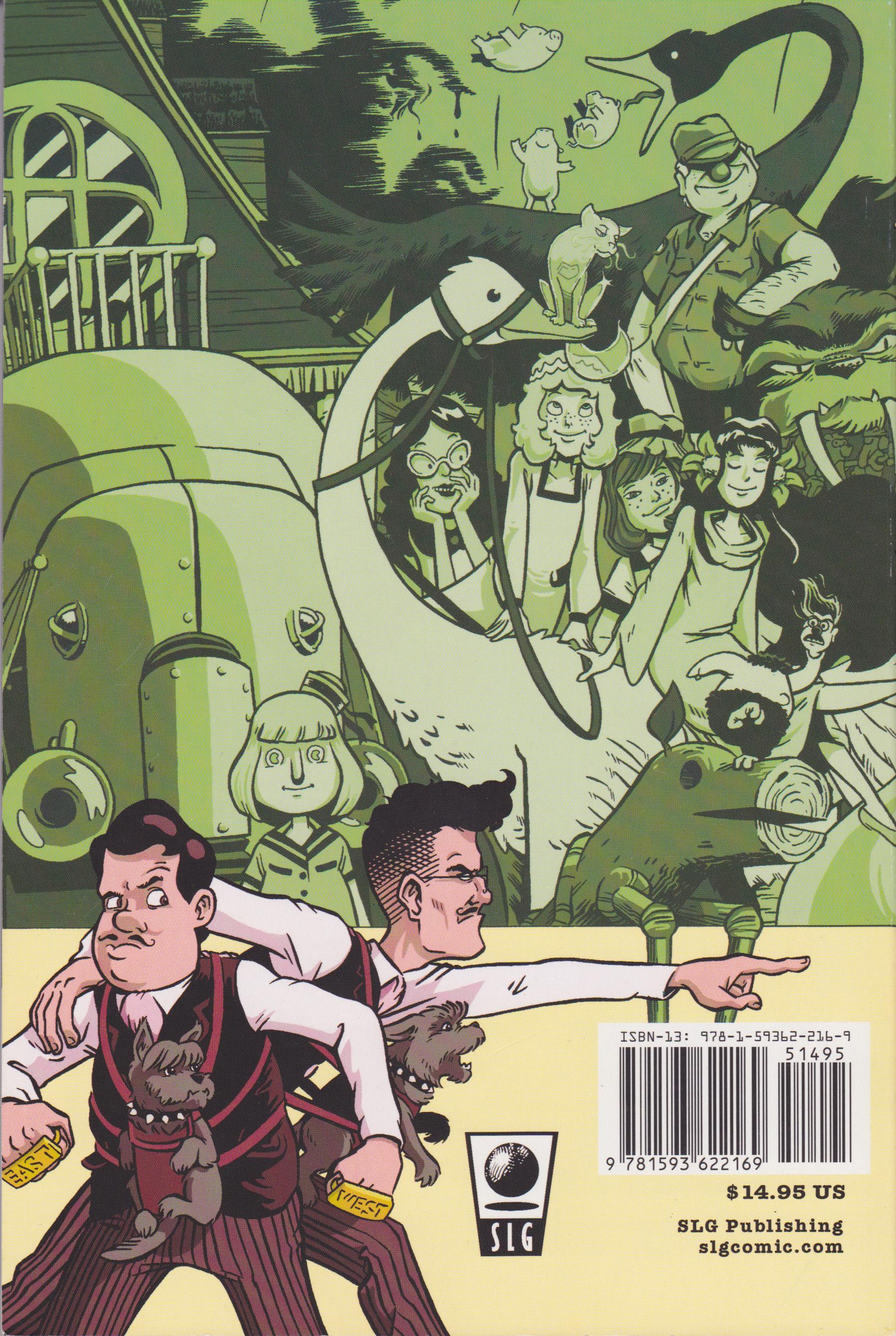Royal Historian of Oz (trade collection back cover)