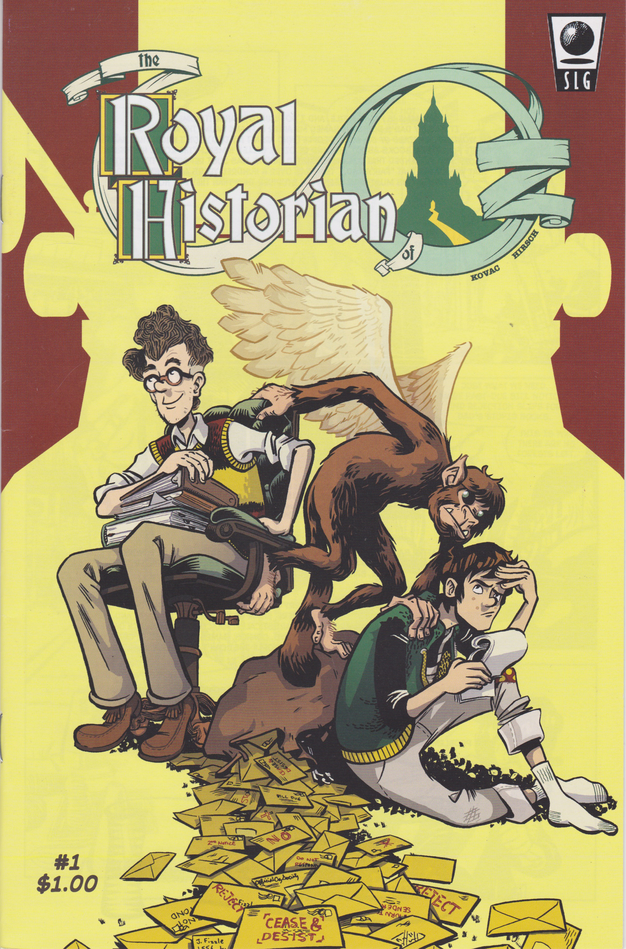 Royal Historian of Oz issue #1