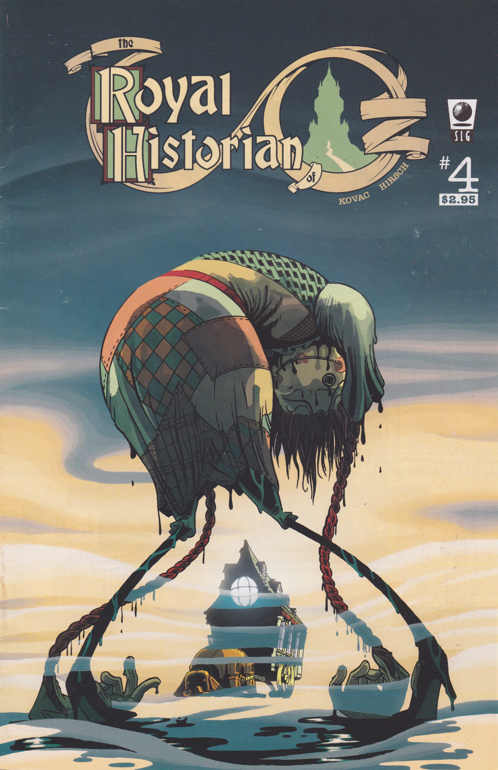 Royal Historian of oz issue #4