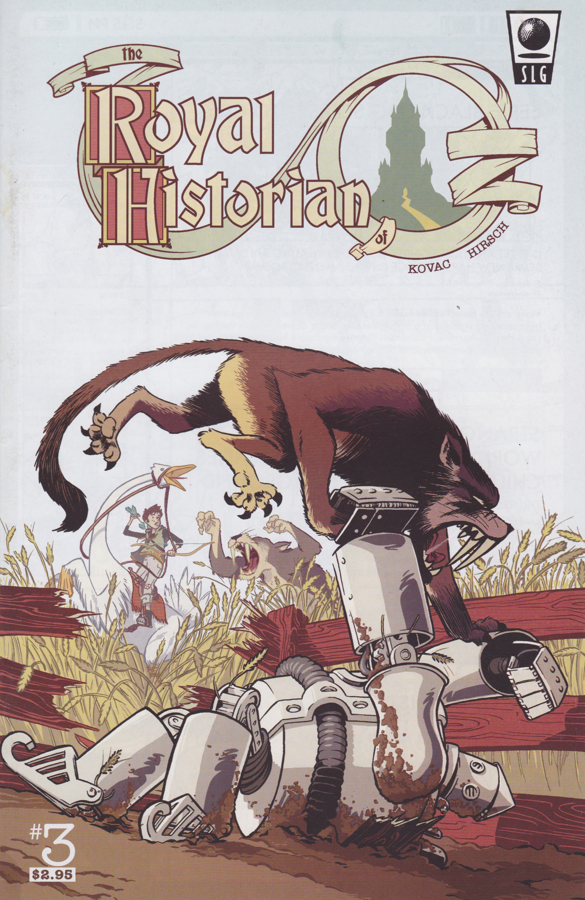 Royal Historian of Oz issue #3