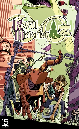 Royal Historian of Oz issue #5
