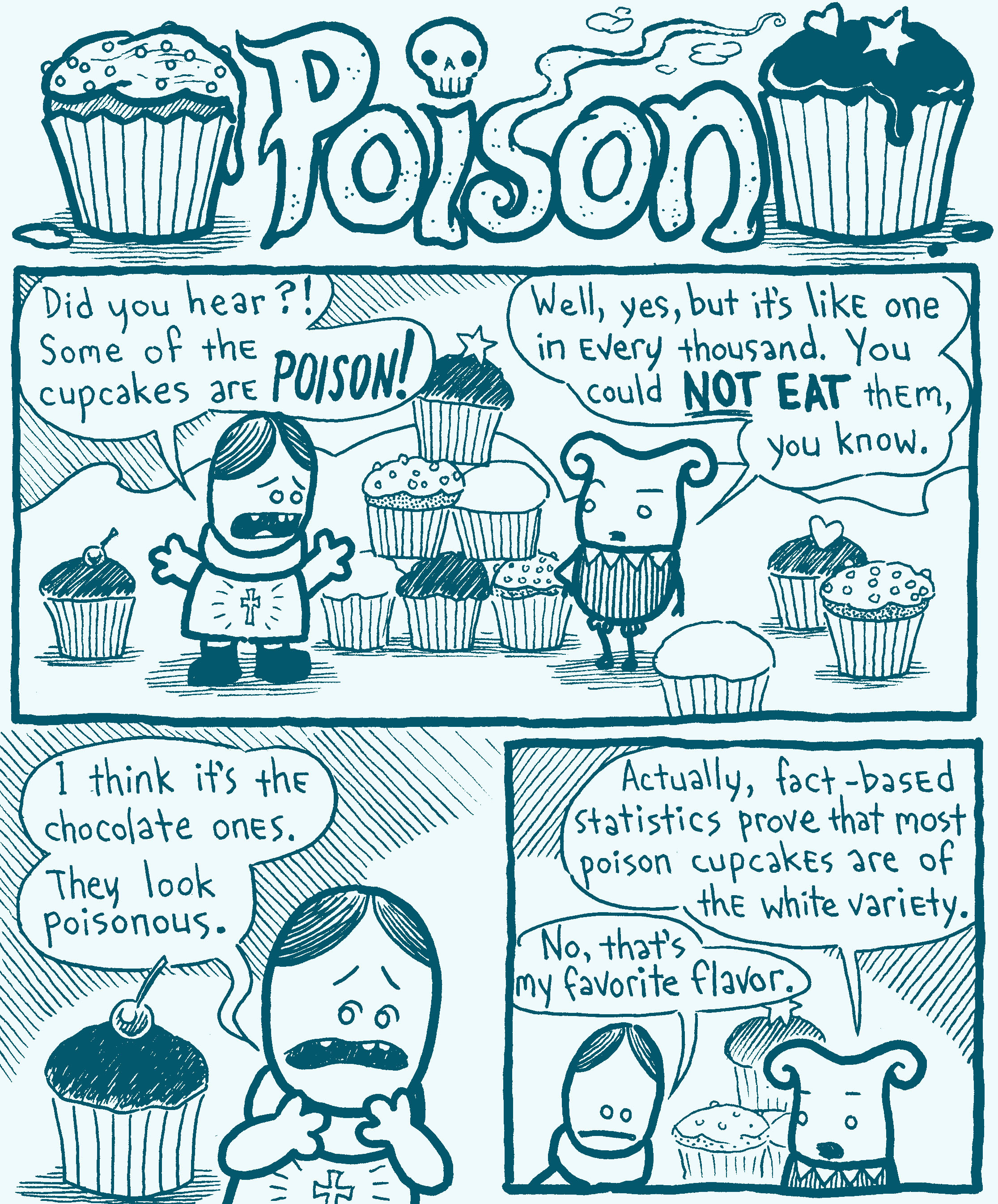 """""""Poison"""" page 1 of 4"""