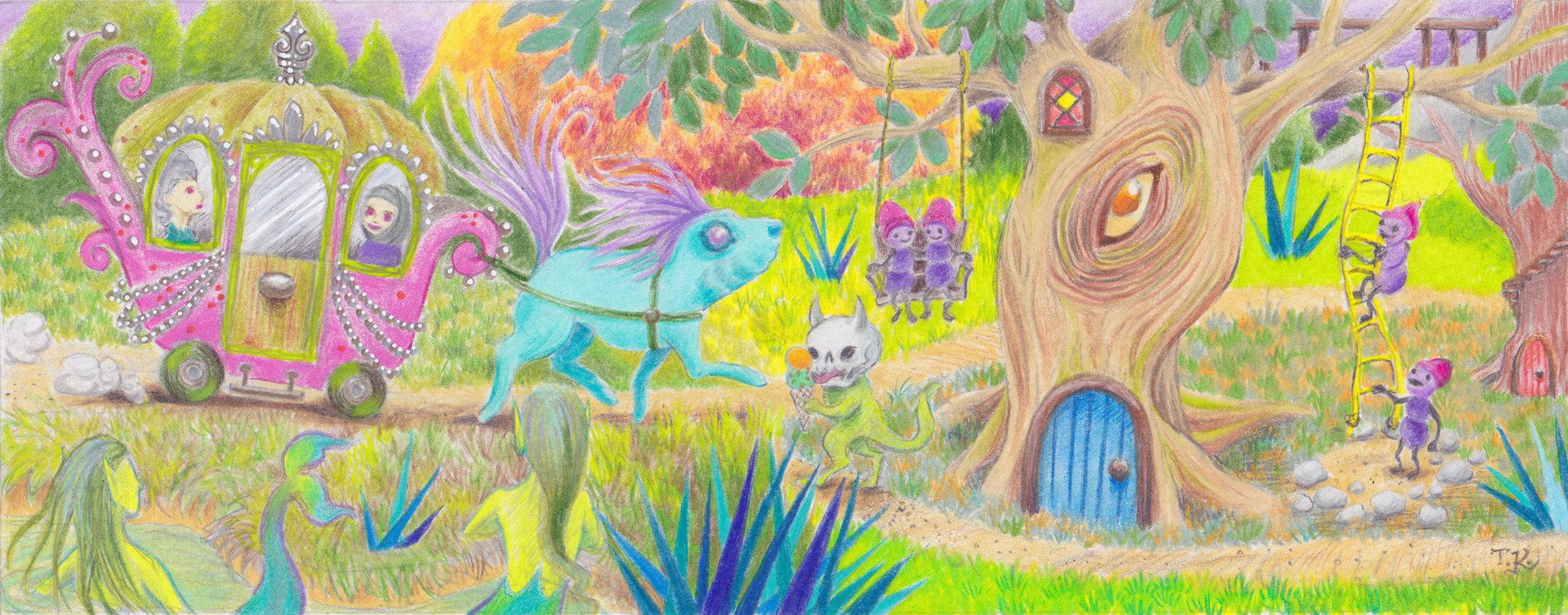 Lil' Fairy Landscape