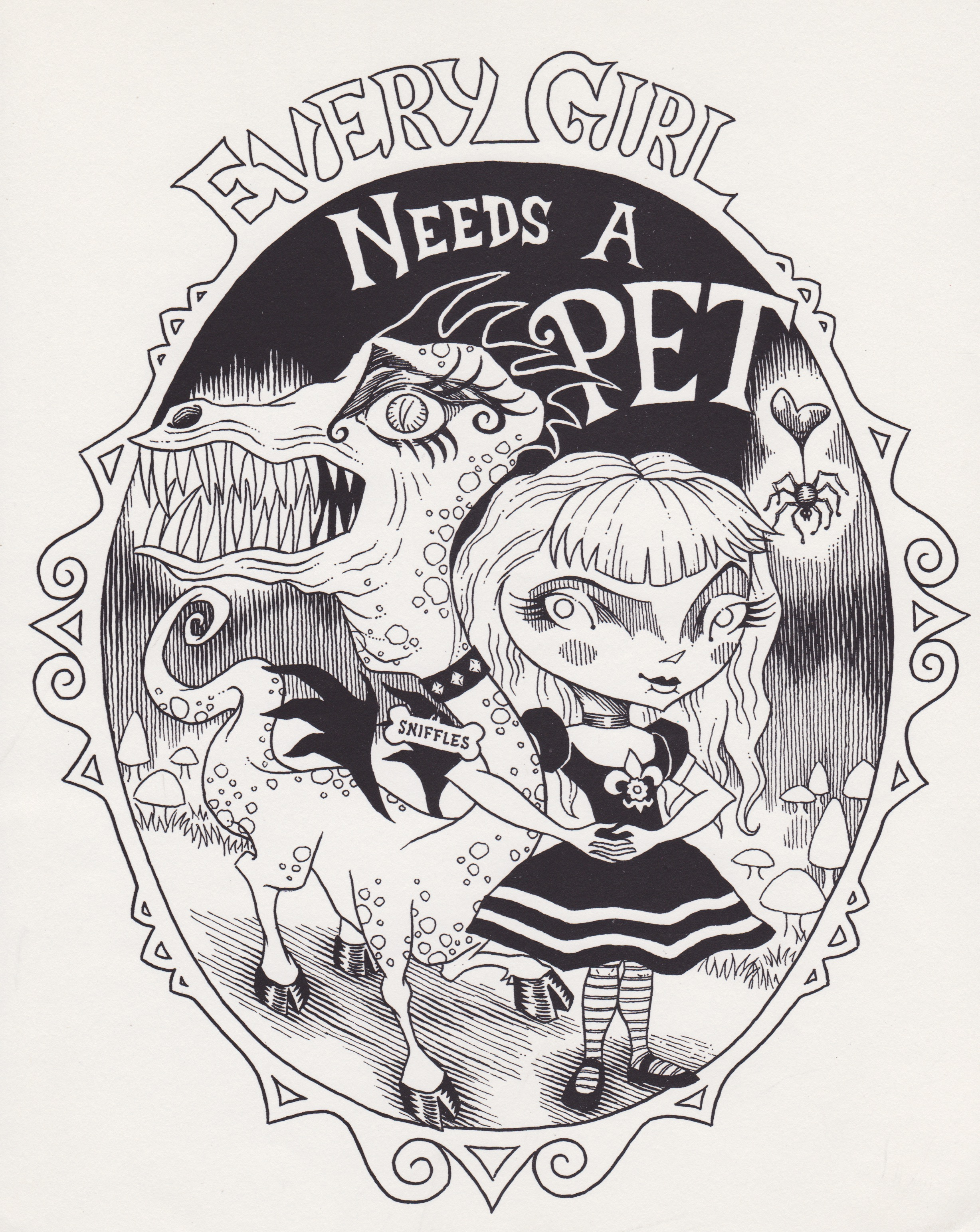 Every Girl Needs a Pet