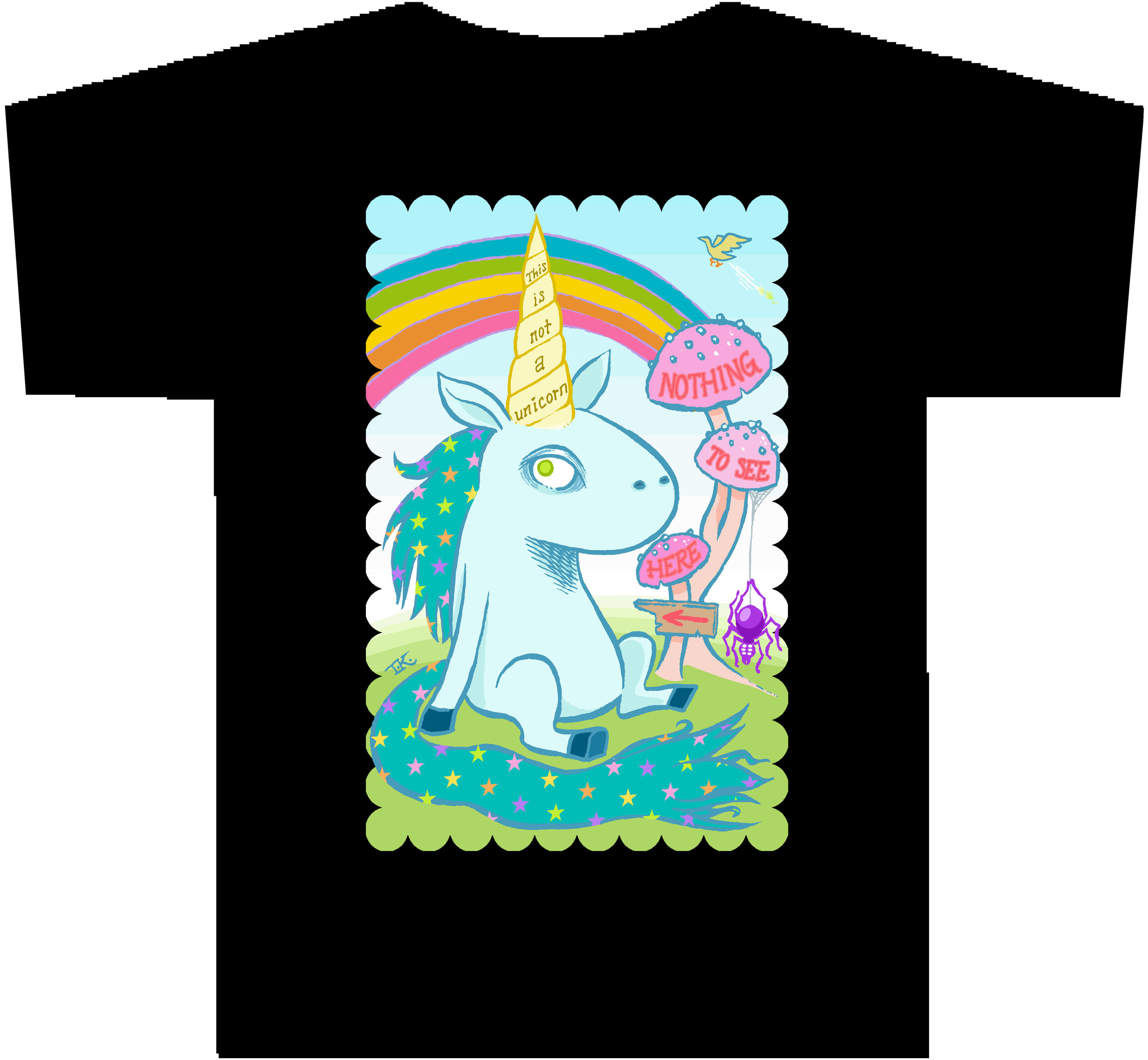 THIS IS NOT A UNICORN T-Shirt