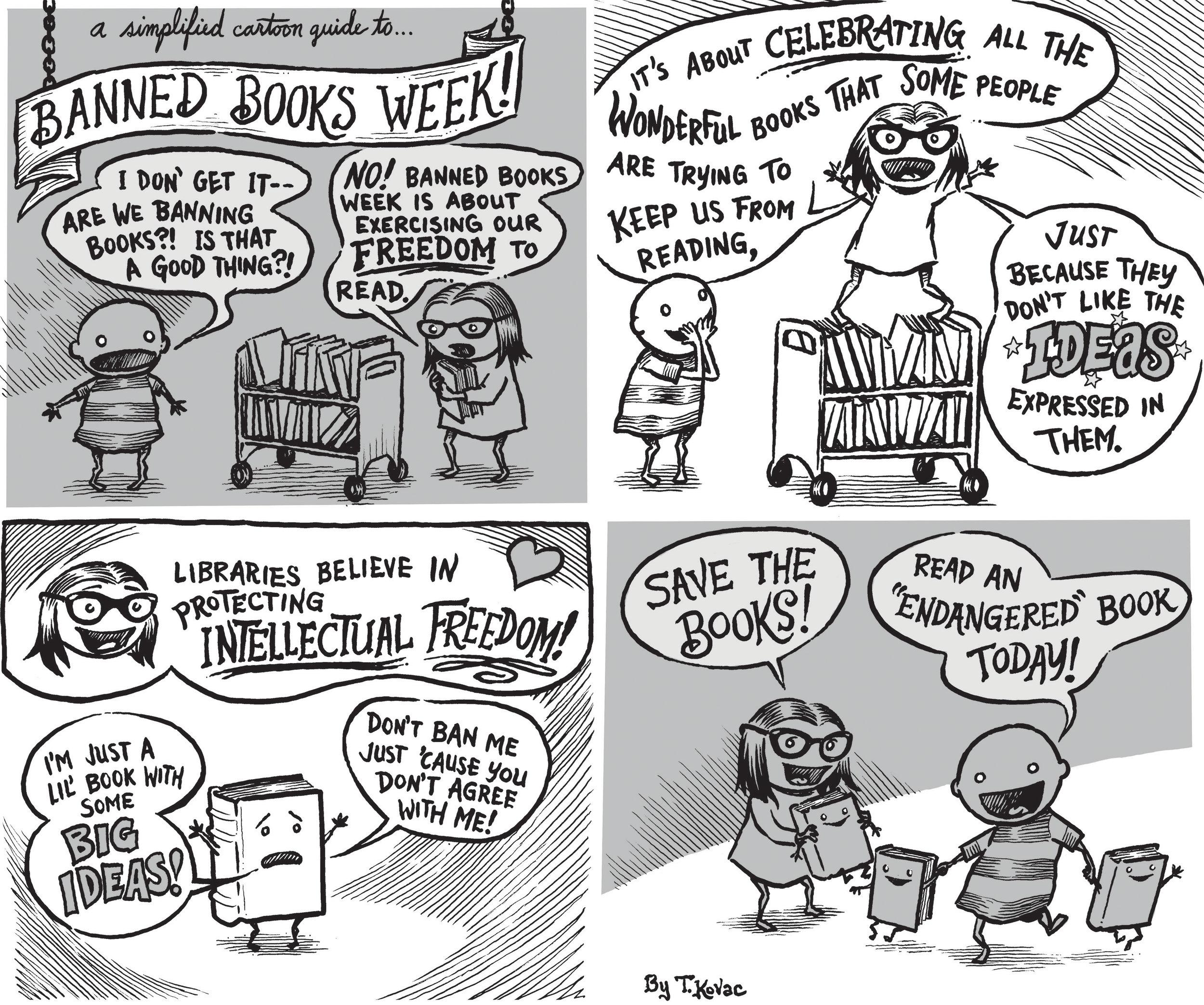 Banned Books Comic
