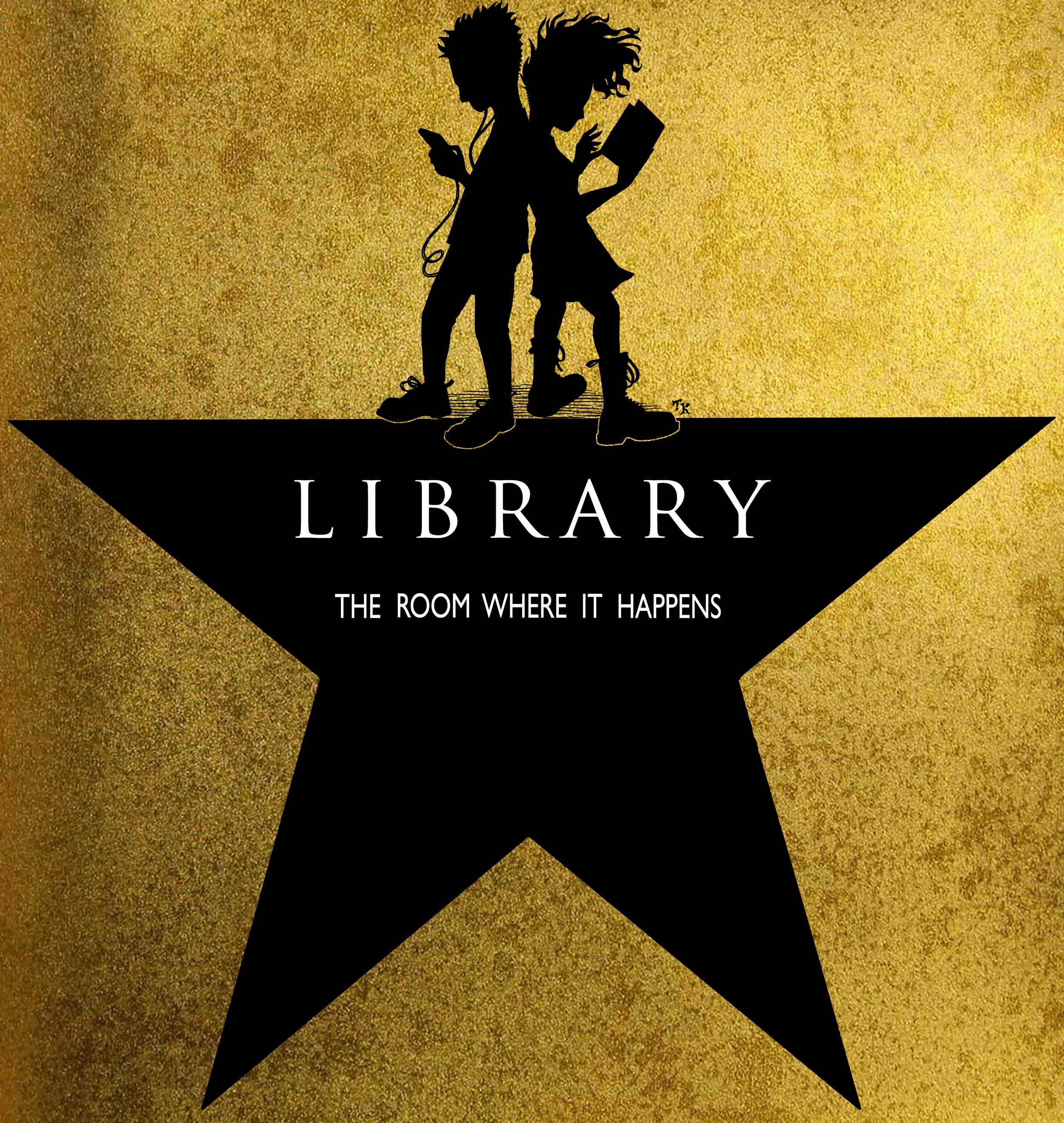LIBRARY the room where it happens (GOLD VERSION)