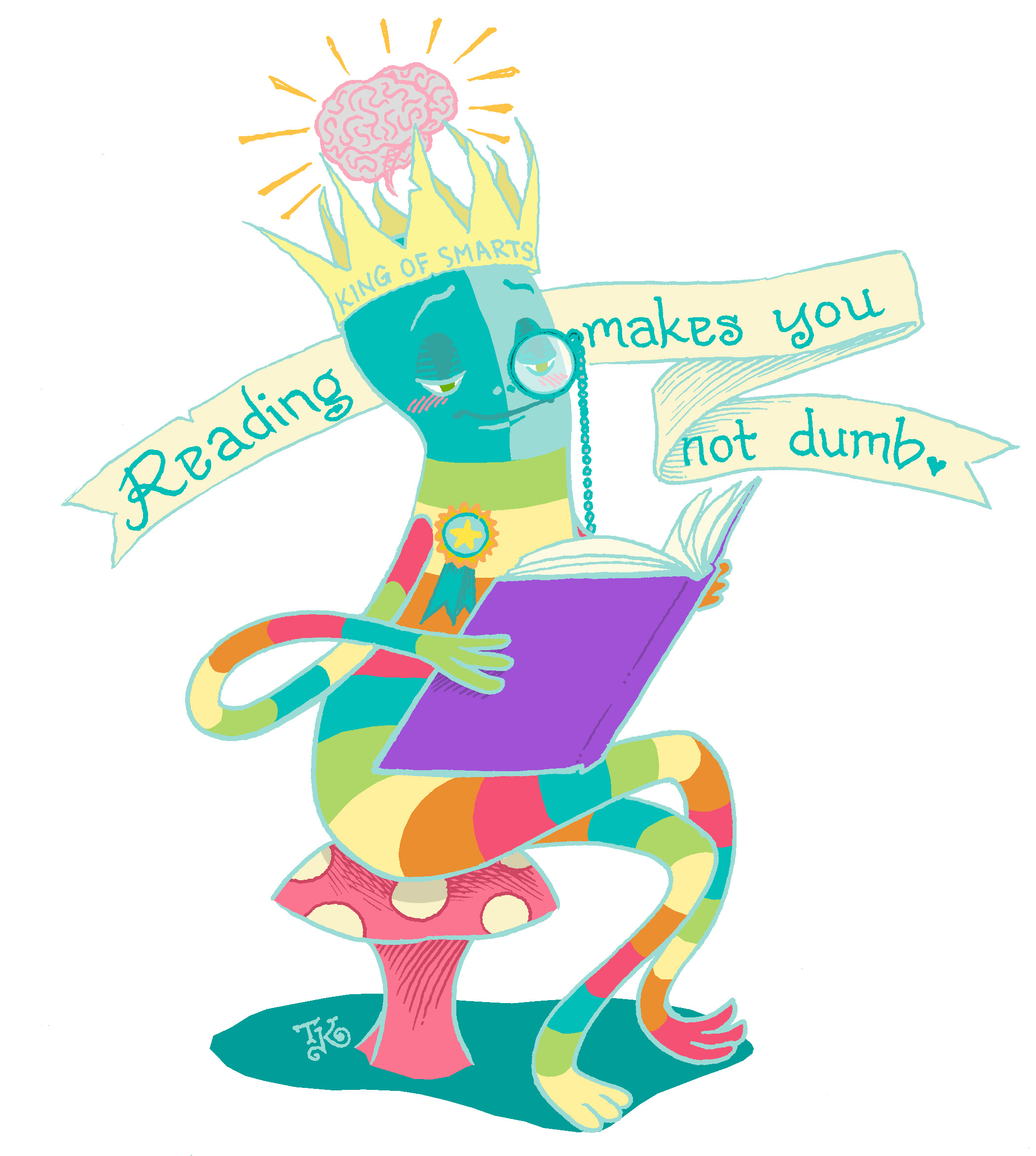 """Reading Makes You Not Dumb"""