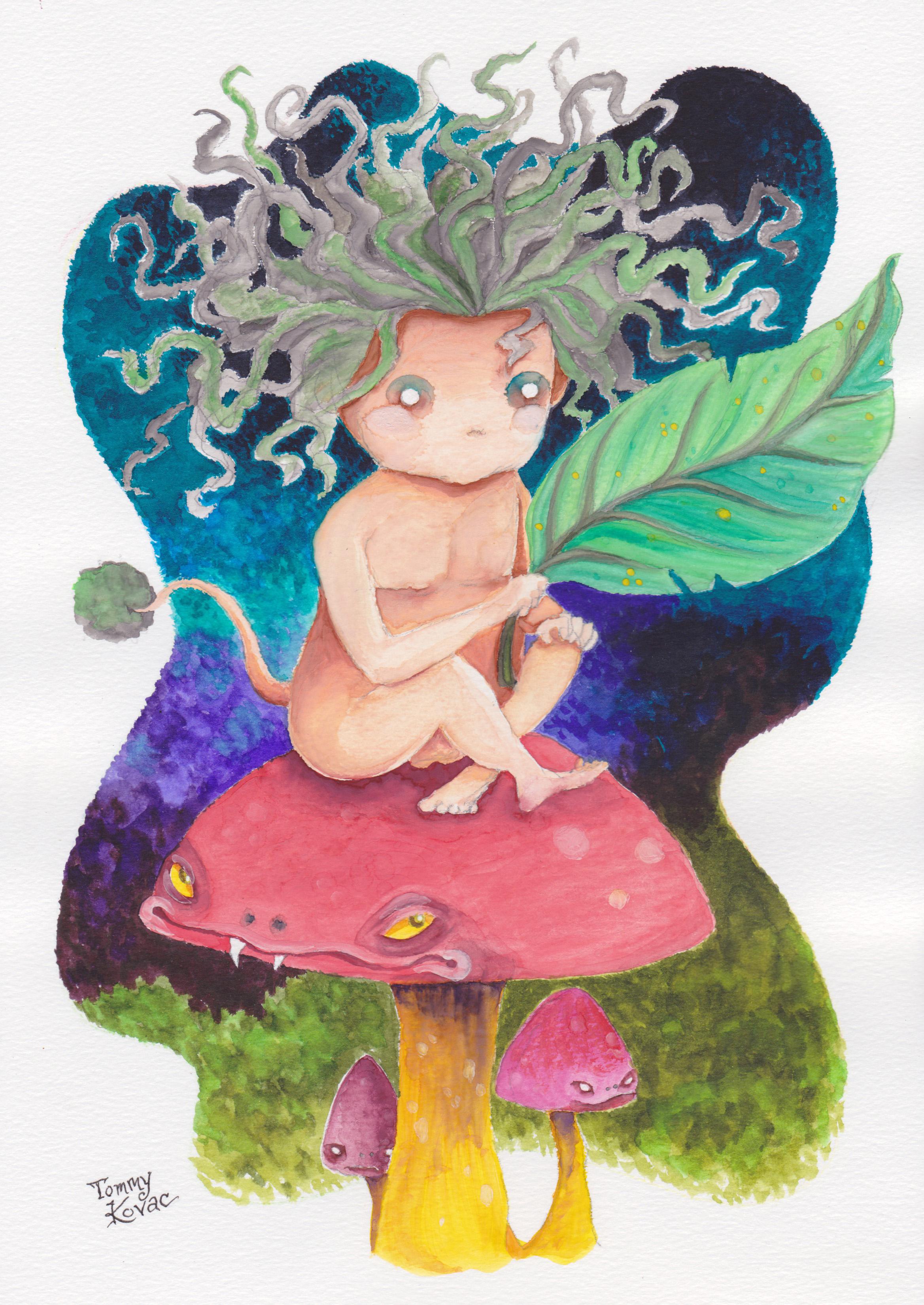 Mushroom Fairy Boy