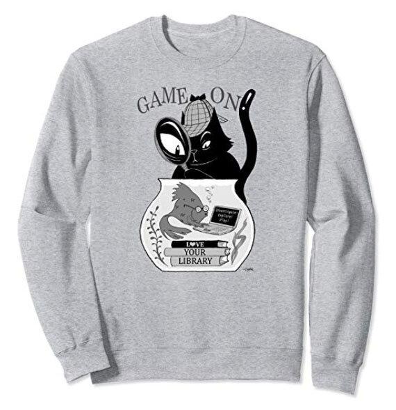 GAME ON LIBRARY Sweatshirt