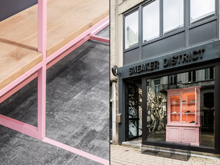 Sneaker District Store Antwerp — Addicted To Retail, Inc.