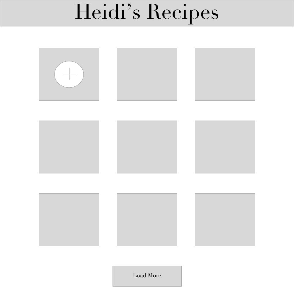 Recipe Development App 2 (web)