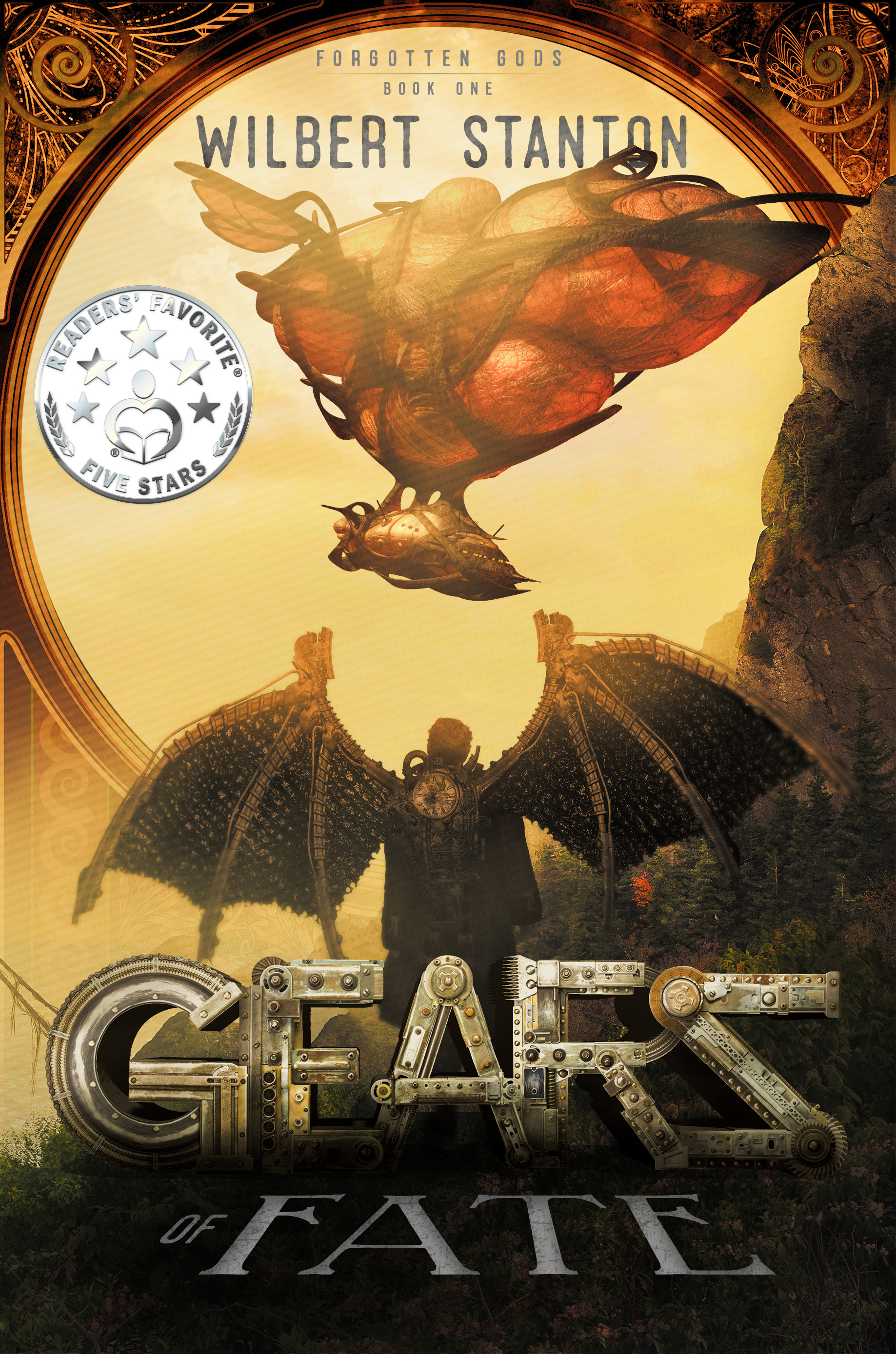 Gears of Fate - Centuries have passed since the Fey conquered Earth, forcing mankind and gods alike to flee to the sky city Olympus. Forgotten gods walk amongst man, lost and powerless. Little do they suspect a second Fey war looms, and an unlikely duo will set in motion the gears of fate.Zak Walker is a fringe rat living in the slums who would do anything to protect his sister, Alice. His neglectful father threatens to consign him to a life away from home on an airship, but he yearns for his life to mean something more than drudgery.Princess Seneca Rose is the last surviving member of the Seelie royals. They tried to establish peace with mankind, but fell to the forces of Queen Mob and the Unseelie Court. Fleeing for her life, Seneca arrives on Olympus in hopes of uniting the forgotten gods against the oncoming Fey.Zak couldn't care less about the fate of Olympus, until faeries kidnap Alice. He doesn't believe Seneca's stories of faeries or gods, but soon has no choice but to accept their lives are intertwined. All his life, he's dreamed of something more. If he cannot face the dangers that await down on Earth, the gods, mankind, and his sister Alice are all doomed.