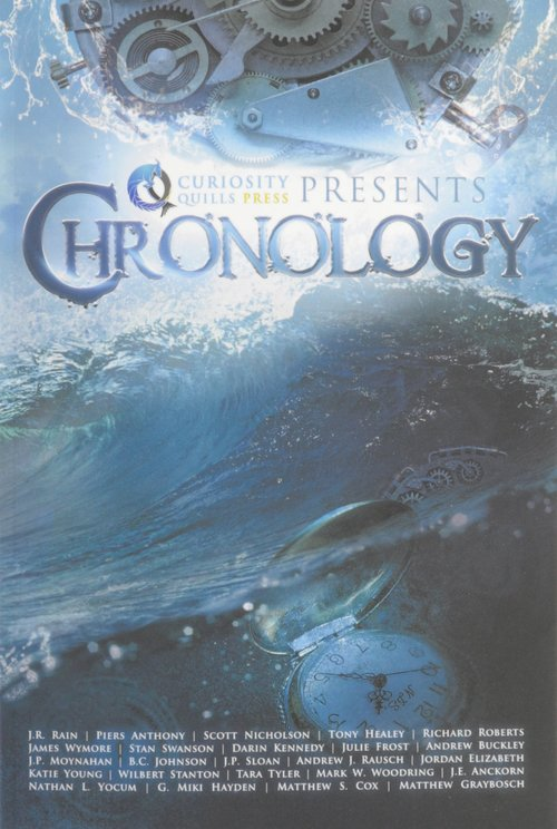 Chronology - It's time... for time! Embark on a literary journey through the ages with Curiosity Quills Press in our latest, greatest, and BIGGEST annual anthology yet. Filled with short stories by greats the likes of Piers Anthony, J.R. Rain, Richard Roberts, Scott Nicholson, Tony Healey, and more, Chronology will send your imagination down unexplored tunnels of history, from the earliest days to a far-flung future.Featuring Wilbert Stanton's psychological horror