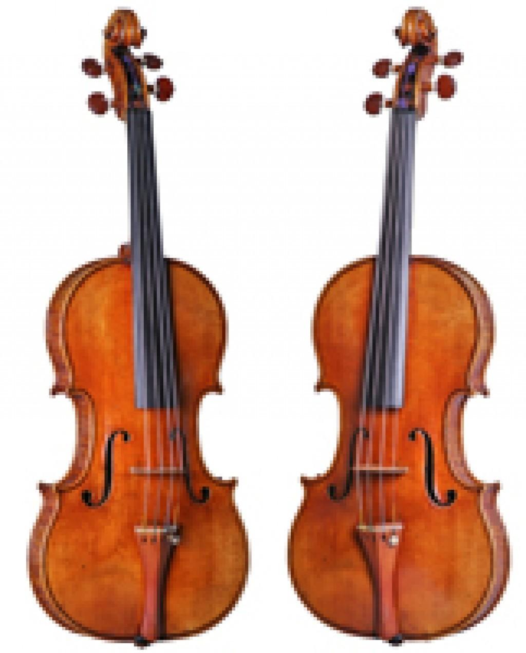 Betts violin, by Antonio Stradivari, Cremona, 1704. (Michael Zirkle/Courtesy Music Division, Library of Congress)