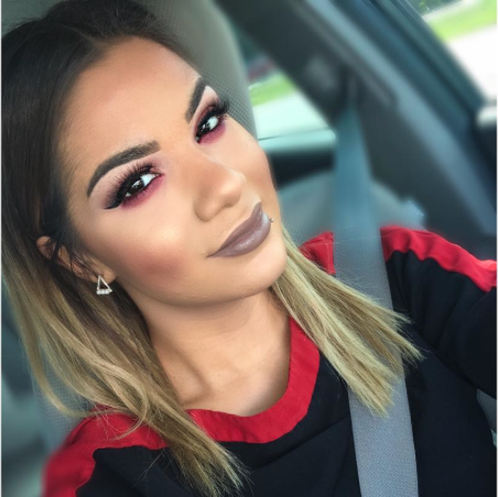 #GlossBoss Alexandria on her way to work as a Sephora Senior Artist
