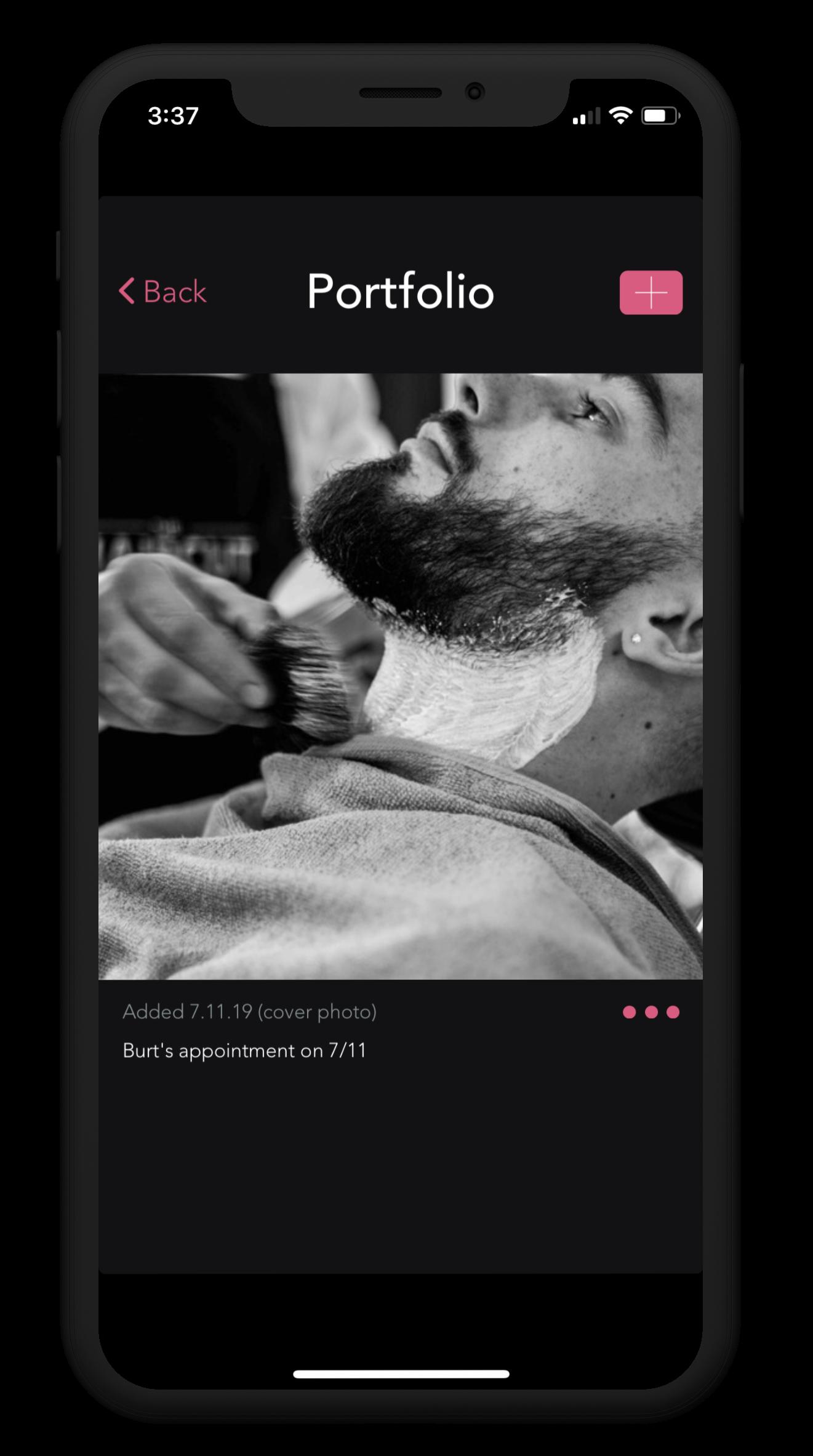 Barber Portfolio iPhone X.png
