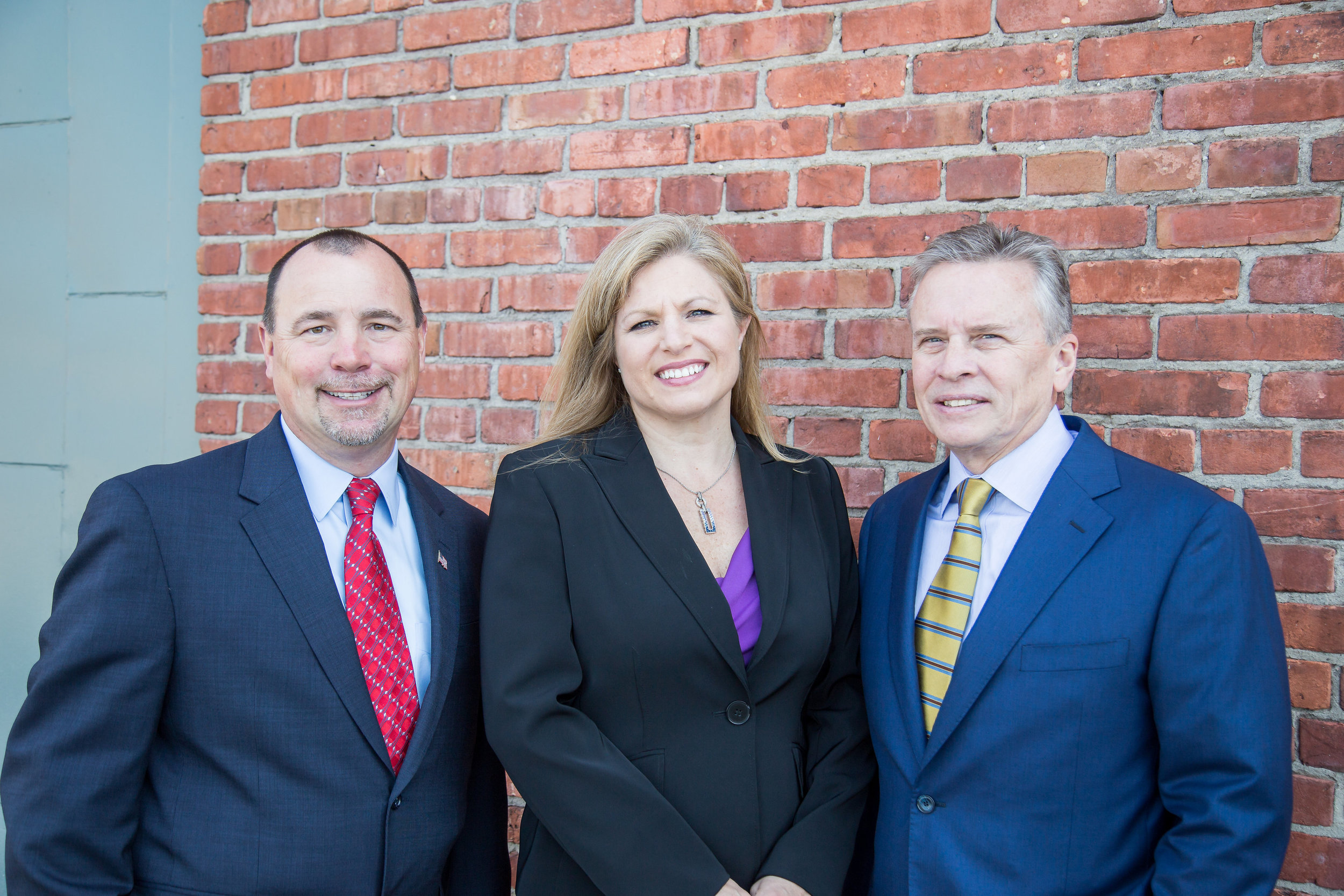 Greg Balasus, Jodi Reedy, and Robert Heacox, I3's Leadership Team.