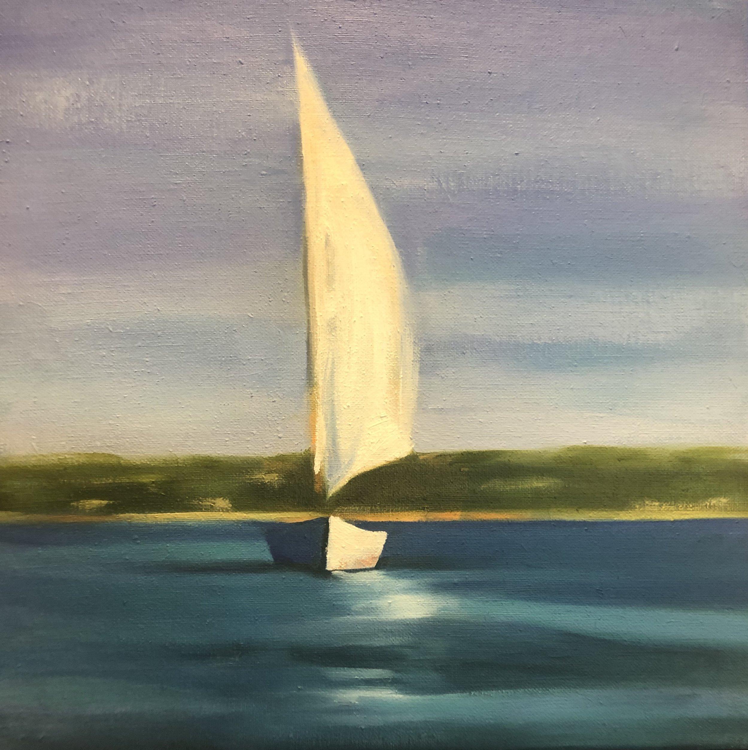 Sail Boat Aglow