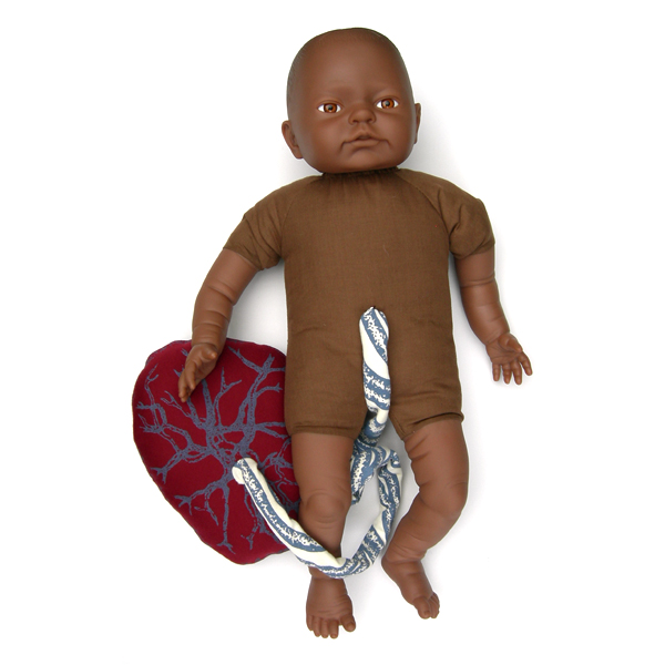 Doll for teaching Childbirth education to mothers and midwives