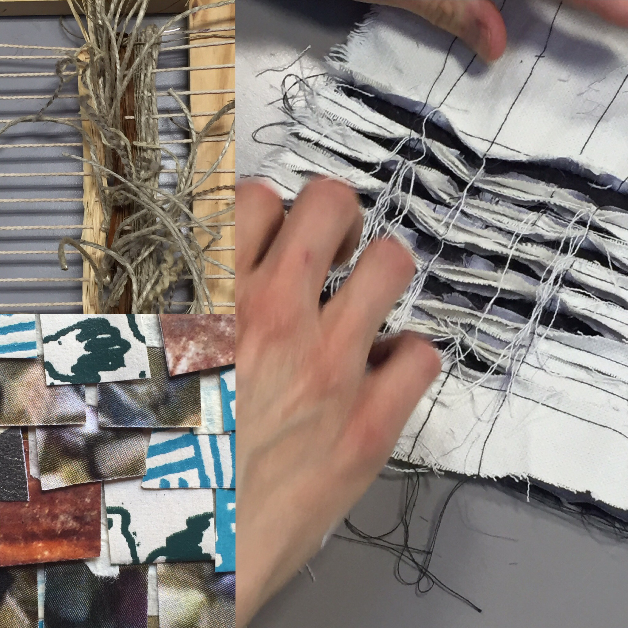 This fun experimental day course includes sketchbook development tips, table weaving, chenilling, mono-printing and much more as we use a mindful walk and sketching to develop a narrative for sensory sketch-booking.
