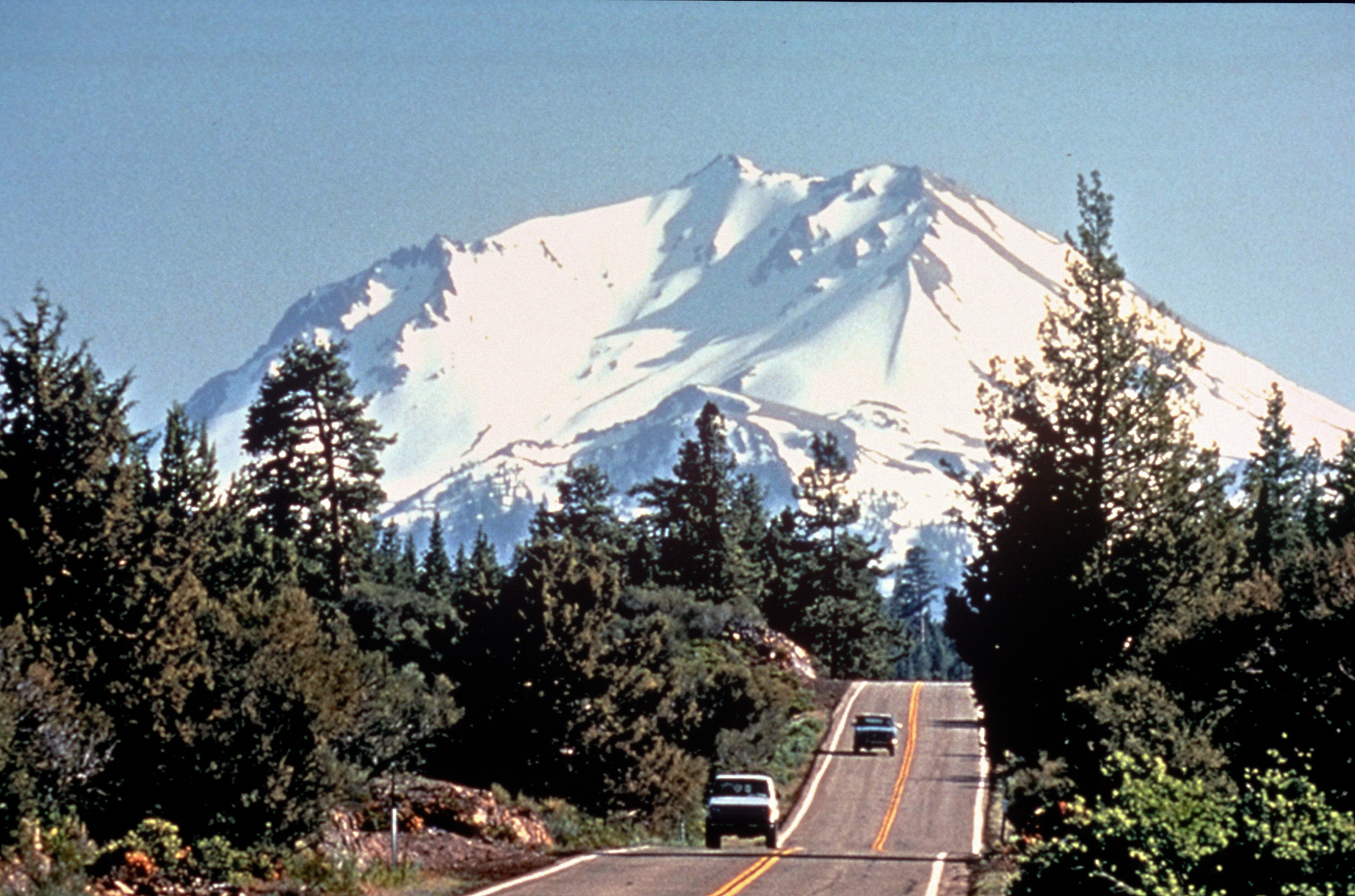 The beautiful Volcanic Legacy Scenic Byway runs through McCloud.