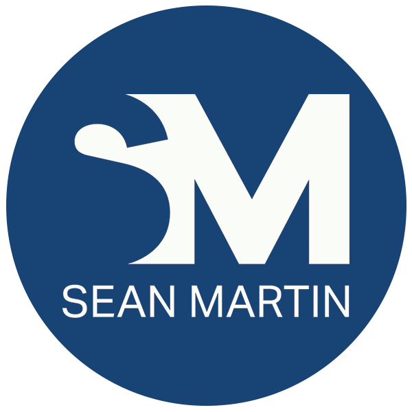 Sean Martin Logo - Round