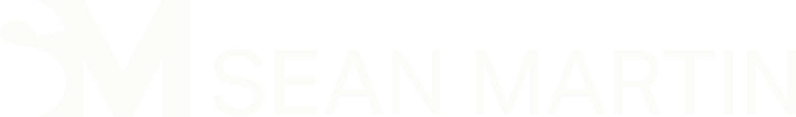 Sean Martin Logo - Wide / White