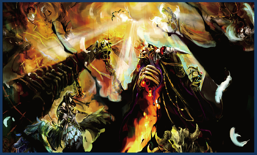 Overlord Vol  1: The Undead King - Light Novel Review — Taykobon