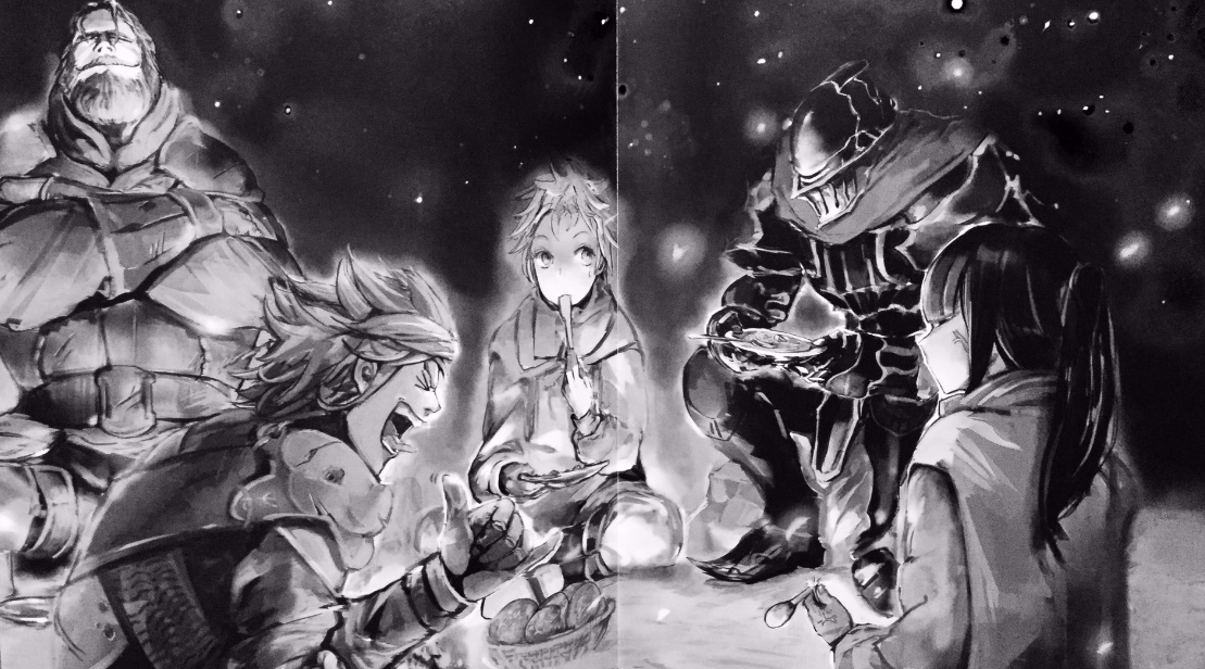 Overlord Vol  2: The Dark Warrior - Light Novel Review — Taykobon