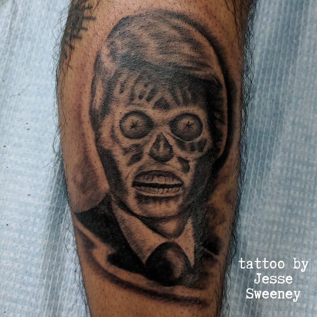They Live Tattoo