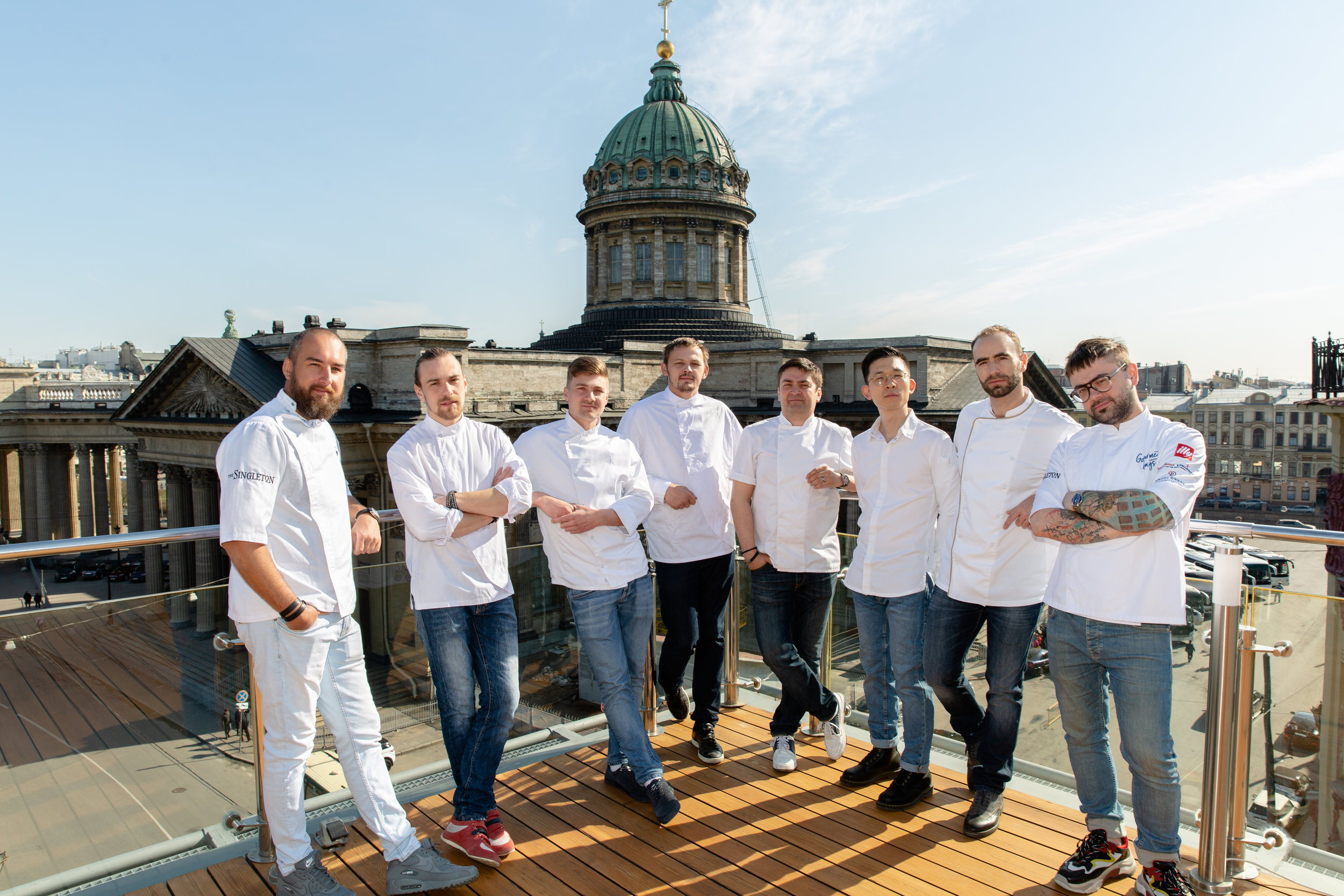 St Petersburg Gourmet Days's participating chefs