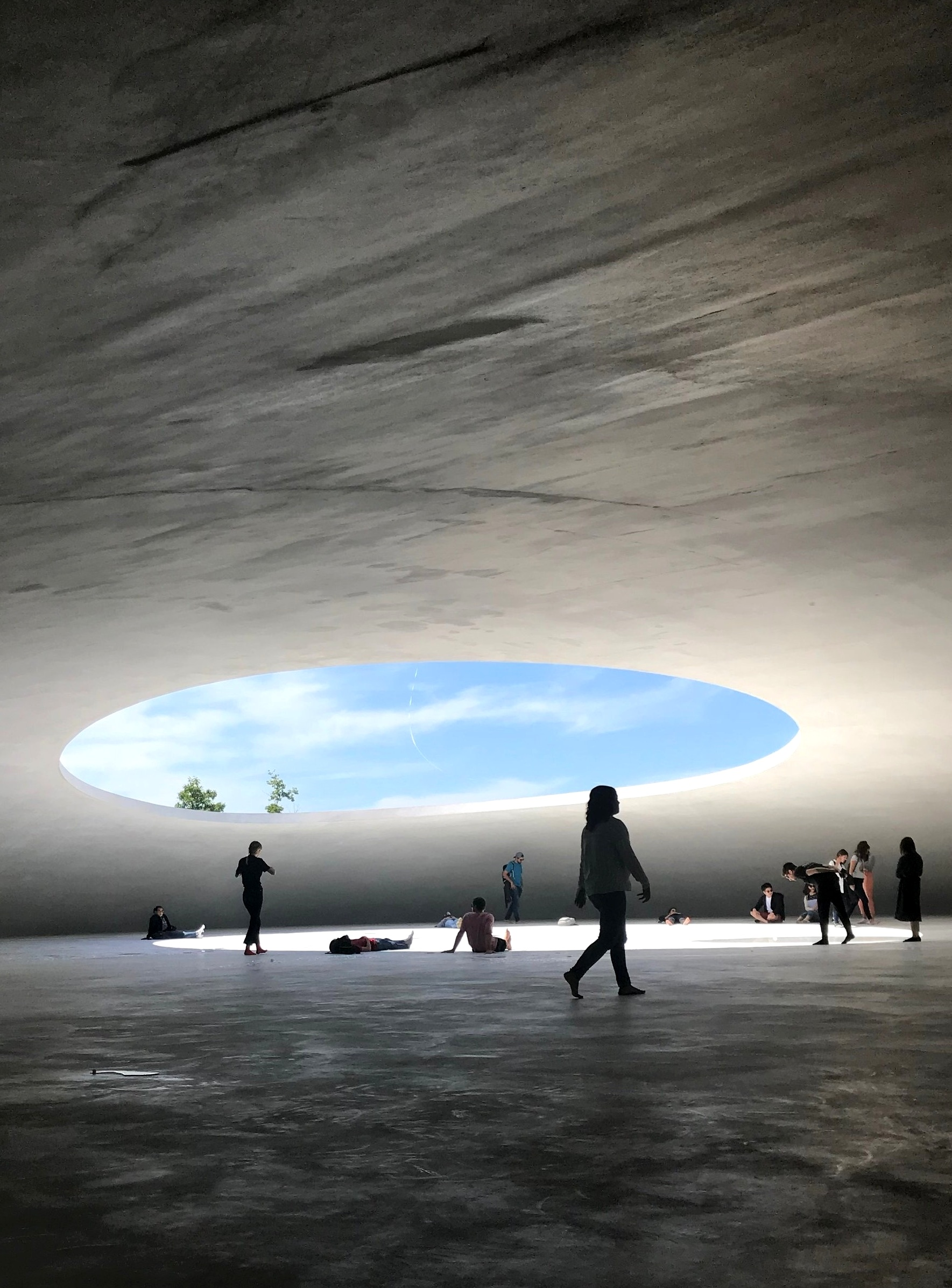 INSIDE TESHIMA ART MUSEUm