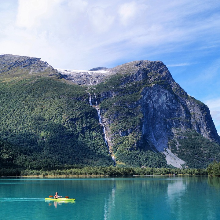 Kayaking in the Fjords