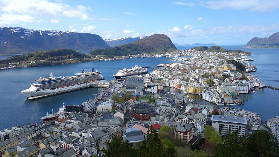 Be impressed of Ålesund