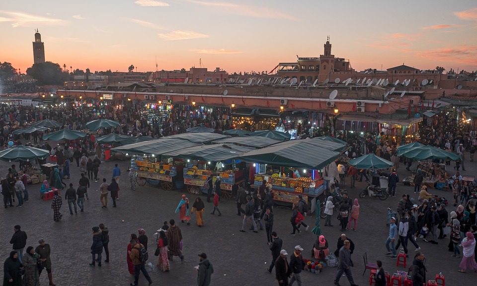 Explore Marrakech the time machine