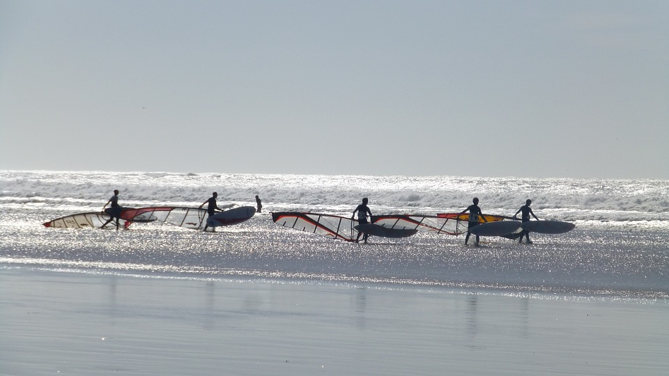 Windsurf in Essaouira