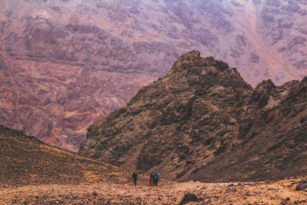 Trek in the Atlas Mountains