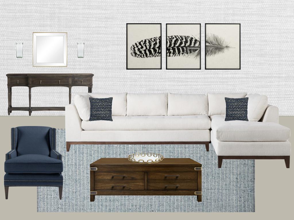 Cool Classical Living Room