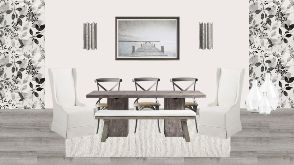 Gray for Grey Dining Room