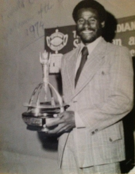Sportsman of the Year Award (1974) – The only T & T footballer to date to have won this illustrious national award.
