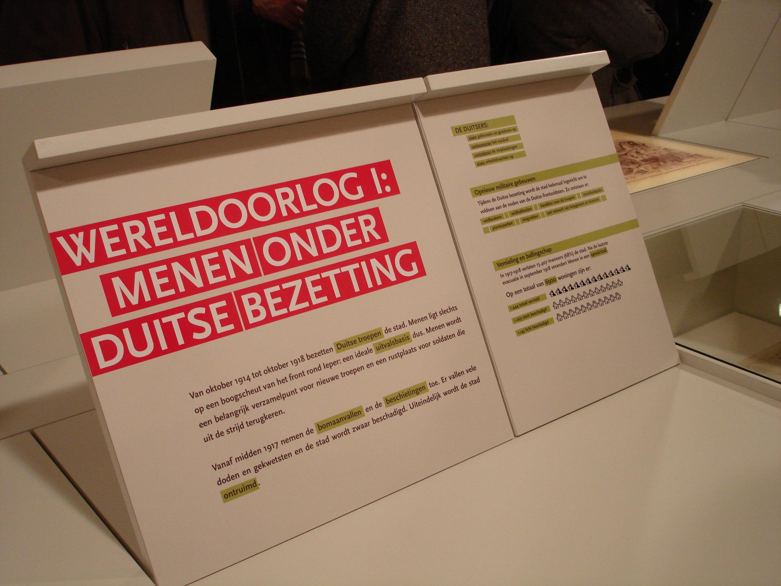 Menen Bezet, Stadsmuseum Menen