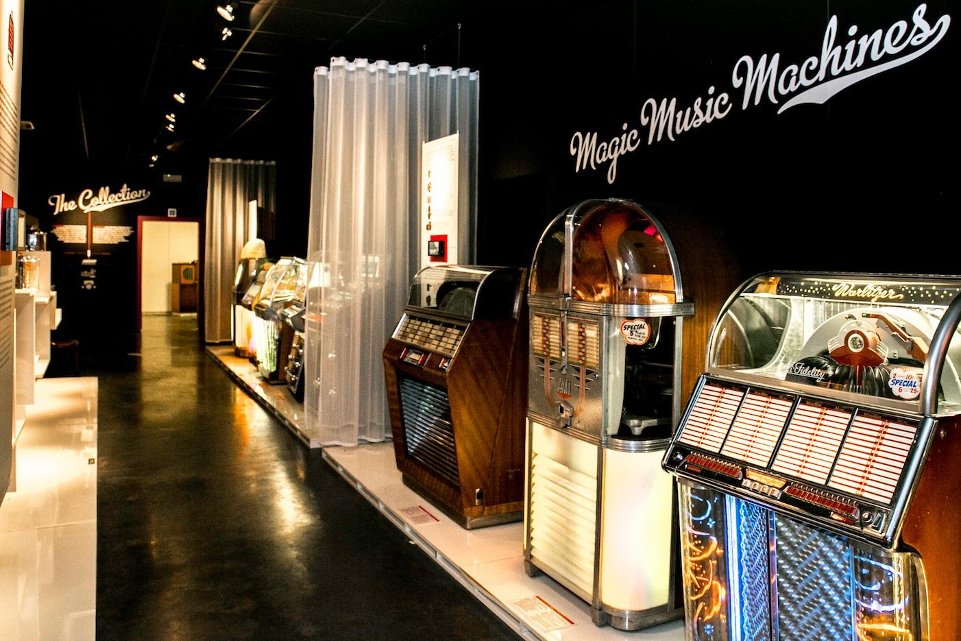 Jukeboxmuseum, Menen