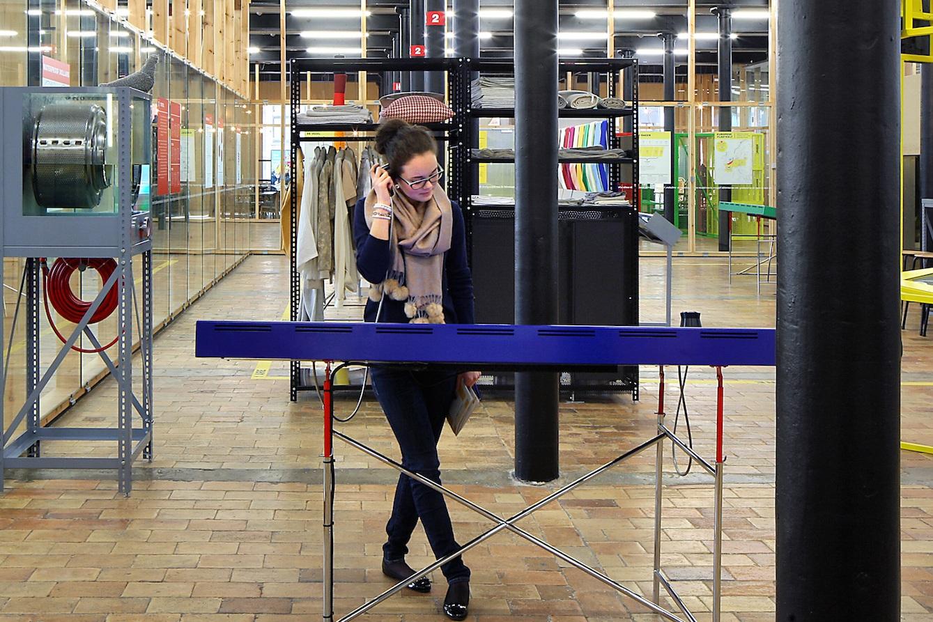 Texture, Museum over Leie en Vlas, Kortrijk